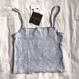 Topshop Grey Cami Top
