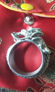 Dragon pure stainless steel ring