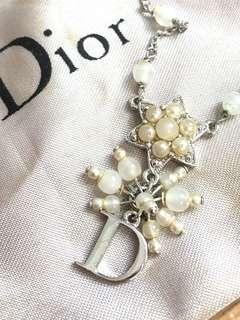 正品 Dior cd necklace 頸鏈
