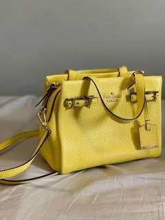 Kate Spade Holden Street Lanie Leather Satchel