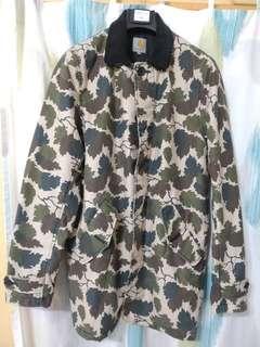 carhartt camo coat
