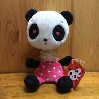 熊貓 Panda 汽車搖頭公仔