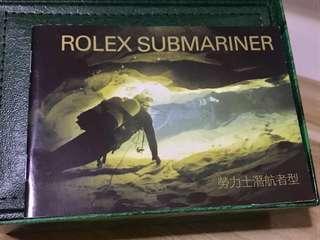 ROLEX Submariner Instruction Manual - New !!