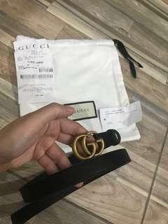 Authentic Gucci Marmont belt