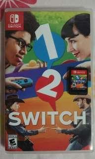Nintendo switch 1 2 switch used