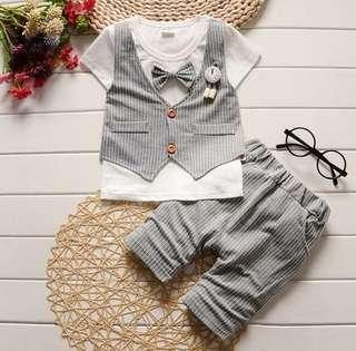 🌼INSTOCK🌼 Boy Baby Suit set