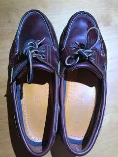 Timberland boat shoes ruby brown US9