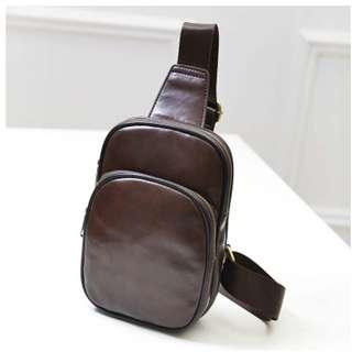 Tas Selempang Kasual Bahan PU Leather - TSJ 390