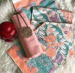 Batik pastel premium