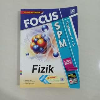 SPM FOCUS FIZIK REFERENCE BOOK