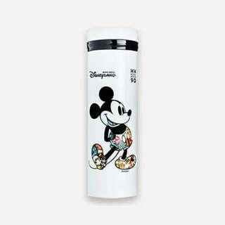 Brand New In Box Standard Chartered Disney Disneyland Hong Kong Mickey Mouse Stainless Steel Water Bottle