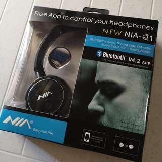 For Sale: Nia Q1 Bluetooth Headphones (brand new)