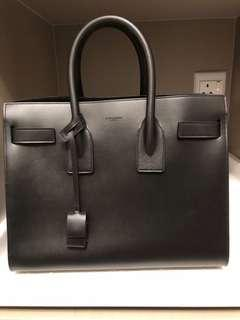 3e31734644ef (reduced price for 3days) Saint Laurent Sac De Jour so black size small