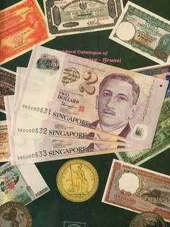 Singapore 🇸🇬 $2 ~ 3 runs 000XXX
