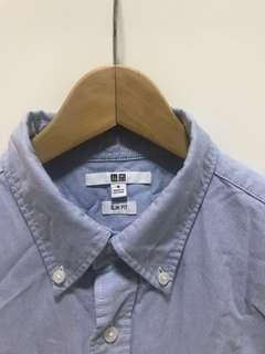 🚚 Uniqlo Buttoned-Down Long Sleeved Shirt
