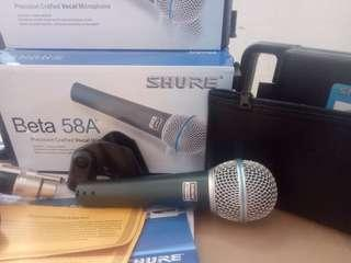 SHURE MIC VOCAL  BETA 58A