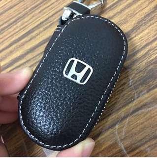 🚚 真皮汽車小零錢包鑰匙包