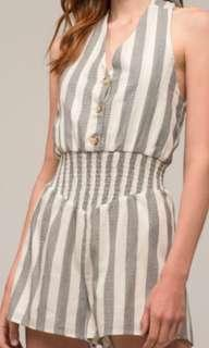 Moon River Striped Romper *REDUCED*