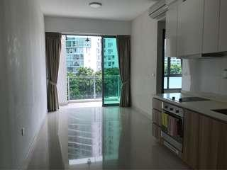 Windy 2 bedrooms unit at the fringe of natural reserve.