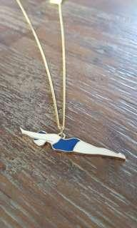 🚚 Quirky diving necklace