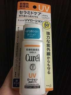 🈹Curel 防曬 protection milk spf 50+ pa+++ 60ml 2件包郵