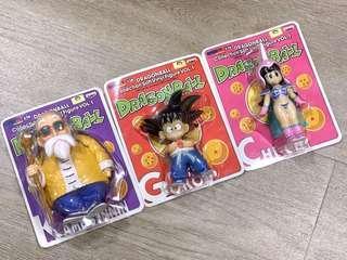 全四套14隻Banpresto龍珠軟膠 figures