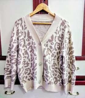 🚚 正韓豹紋柔軟羊毛小外套