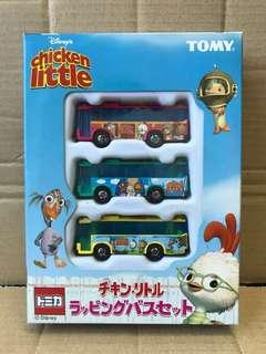 Tomica tomy 全新 Chicken little boxset