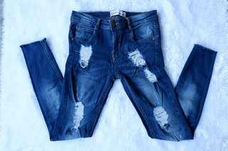 Zara Tattered Jeans