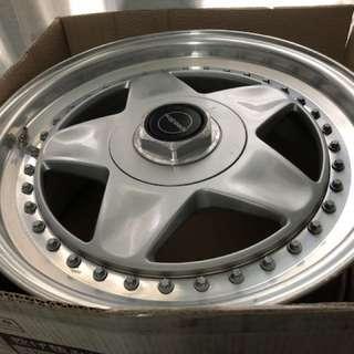 17inch Original Speedline Mistral 3 piece Alloy Wheel