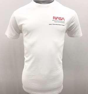 NASA tshirt white Men Casual Sport