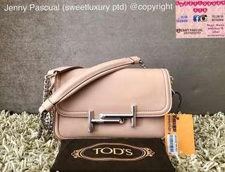 BRANDNEW TODS MINI DOUBLET CROSSBODY