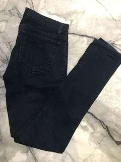 AUTH J Brand Dark Denim Navy Super Skinny Jeans - Size 27 - RRP$300 - Great Condition