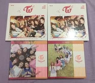 Unsealed Twice Kpop Albums (Photobook and CD only)