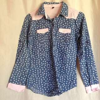 Patterned Long Sleeve