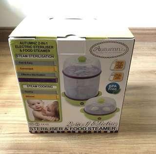 Autumnz 2in1 steriliser & food steamer
