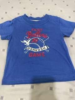 #MFEB50 Osh Kosh Bgosh Blue Shirt Size M