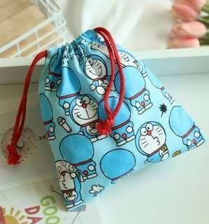 Doraemon  多啦a夢 角落生物 布袋束繩袋束袋