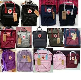 Fjallraven Kanken school bags / travel bags **Durable Waterproof Good quality Brand New #BNIP BNWT