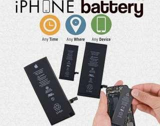 iPhone Battery Replacement, iPhone LCD Screen Replace Crack