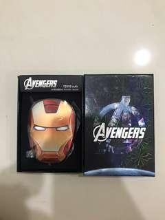 🚚 Iron Man Avengers 12000mAh Powerbank