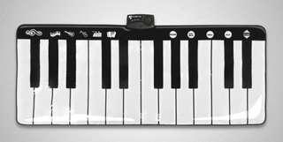 🚚 鋼琴音樂地墊