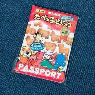 愉快動物餅passport套