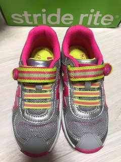 Stride rite girl's shoes Moselle grey/pink model CG53100