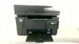 HP LaserJet Pro MFP M127fn,連2個全新碳粉