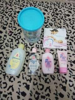 Take All Perlengkapan Perawatan Bayi FREE CD & Round Jar Johnson