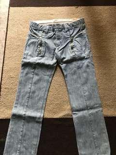 Jeans McQueen asli