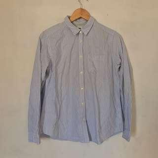 UNIQLO STRIPED WOMEN SHIRT LONG SLEEVE