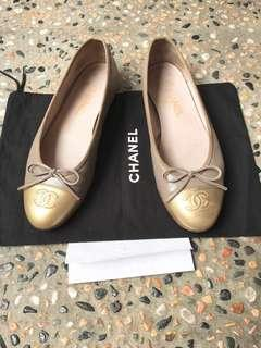 Chanel Balerinas size 38,5 fits to 39