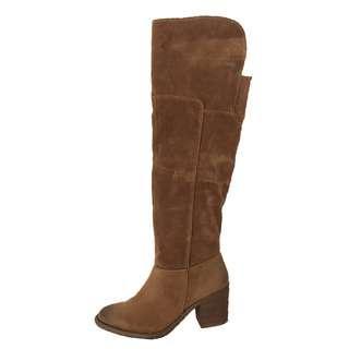 長靴過膝 韓國 大碼 EU 41 女靴 粗跟鞋 有瑕疵 平賣 women boots defected SALE long booties block heel shoes No.65